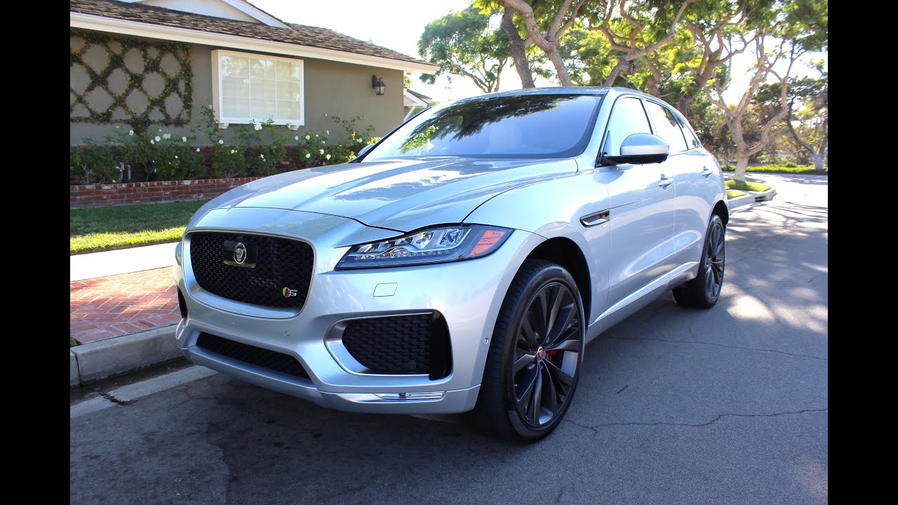 2017 Jaguar F Pace S Awd Walkaround