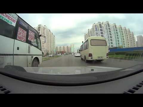 Автошкола Приоритет. г. Ростов-на-Дону.  Экзаменационный маршрут ГИБДД.