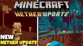 Minecon Live 2019: The Nether Update! New Biomes, Piglin Beasts & More!
