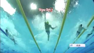 2016 Avrupa Yüzme Şampiyonası İskender Başlakov 50mt sırtüstü