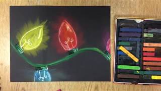 Easy Drawing for Kids - How to Draw Colored Lights