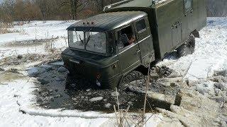 ВСЕ хотят провалиться а получается только у ГАЗ-66  OFF ROAD в ЗАМЕРЗШЕМ БОЛОТЕ
