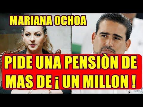 aseguran que MARIANA O. pide una PENSIÒN ALIMENTICIA para sus HIJOS de MAS DE UN MILLÒN