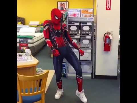 Ghetto Spider Dances To It's A Hard-Knock Life