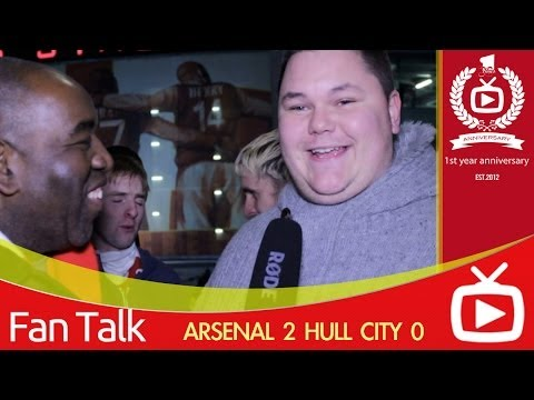 Arsenal FC 2 Hull City 0 - Fan Apologises To Arsene Wenger