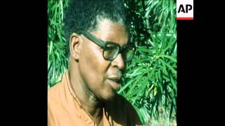 UPITN 1/3/81 CHAIRMAN OF PAN AFRICANIST CONGRESS INTERVIEWED ON WHITE RULE