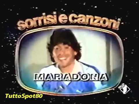 TV SORRISI e CANZONI 1984 - Spot pubblicità anni 80