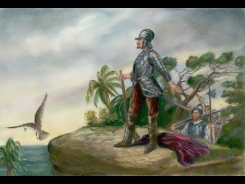 VASCO NÚÑEZ DE BALBOA vs GASPAR DE ESPIN. (Año 1475) Pasajes de la historia (La rosa de los vientos)
