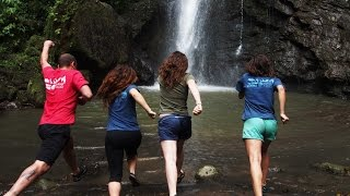 ALS Bucket Challenge Reaches Rainforests of Costa Rica | Epic Jungle Waterfall Dunk