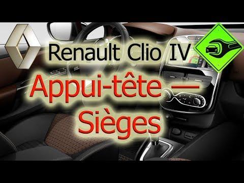 Appuie tête arrière gauche ou droit Renault Megane 1 têtière Repose tête