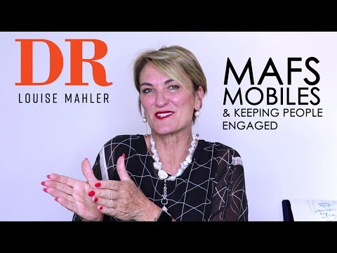 Let's Chat | MAFS, Mobiles & Keeping People Engaged | Dr Louise Mahler