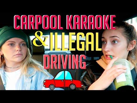 CARPOOL KARAOKE AND ILLEGAL DRIVING FT. IZBALL