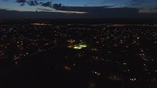 DJI Phantom 3; Lightning over Boca Raton, FL. Feel the Love.