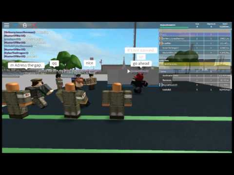 Roblox: Allied Airborne training Part 1 out of 9