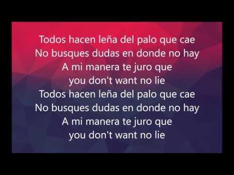 Otra cosa - Daddy Yankee ft. Natti Nat (Letra, Lyrics)