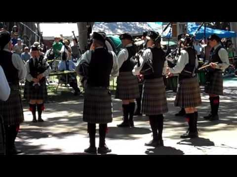 Cameron Highlanders Pipe Band (Grade IV) - Pleasanton Games - Medley - August 30, 2014