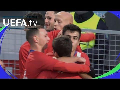 Youth League highlights: Atlético 4-0 Dortmund