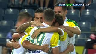 Highlights: Sturm Graz 0:2 AEK Larnaka (0:2)