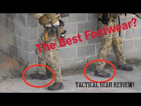 The Worst Footwear Ever? Tactical Gear Reviewed Salomon Boots - SEAL Grinder PT Gear Review