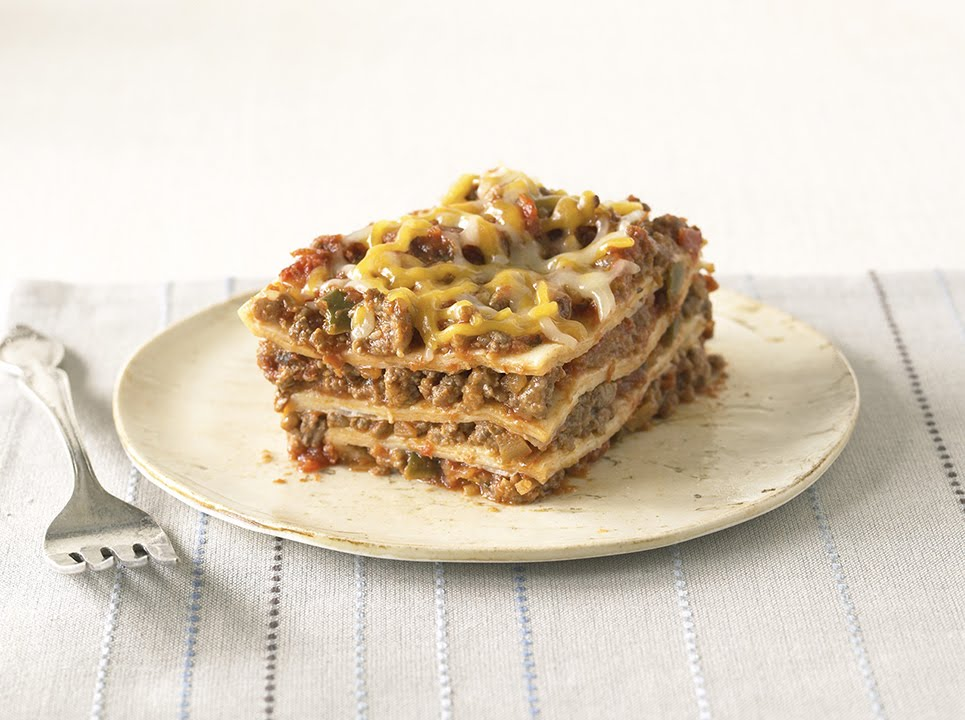How to Make Mexican-Style Lasagna Video - YouTube