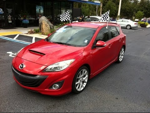 Autoline Preowned 2011 Mazda Mazda3 Mazda Speed 3 Sport For Sale Used  Review Jacksonville