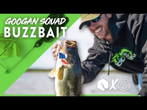 Fishing The NEW Googan Squad 𝙓 Catch Co BUZZBAIT with Lake Fork Guy
