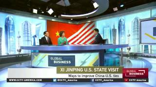 Elaine Chao and James Chao talks to CCTV about China-US relationship