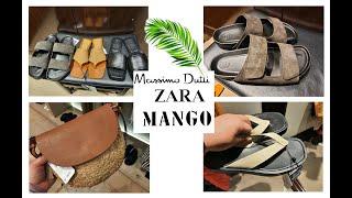 Шоппинг влог MassimoDutti Zara Mango Обувь и Сумки на Лето 2021