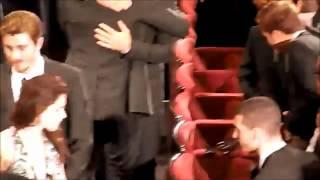 Robsten OTR Cannes inside theater slomow.wmv
