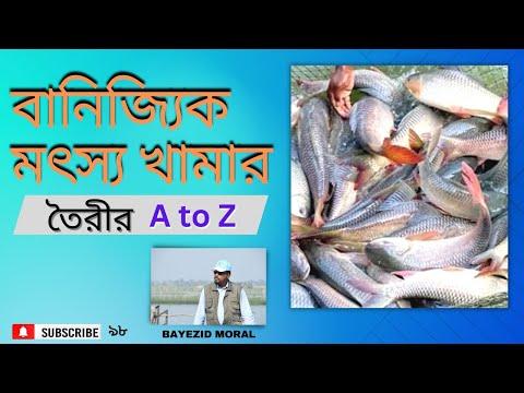 Training module - Fish Farming, আধুনিক পদ্ধতিতে বাণিজ্যিক মৎস্য খামার করার প্রশিক্ষণ ও কোটি টাকা আয়