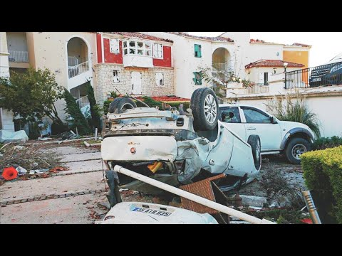 FATAL Day for Izmir: Tornado, great Hail, Flood. STORM in Turkey. [subtitles] / Natural Disasters