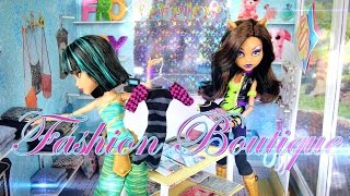 How To Make A Doll Fashion Boutique - Doll Crafts