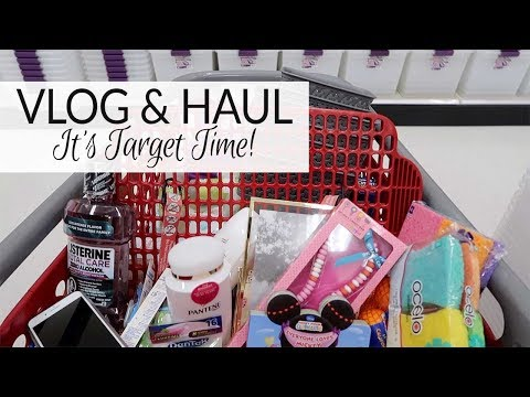 Vlog & Haul | It's Target Time | January 2018