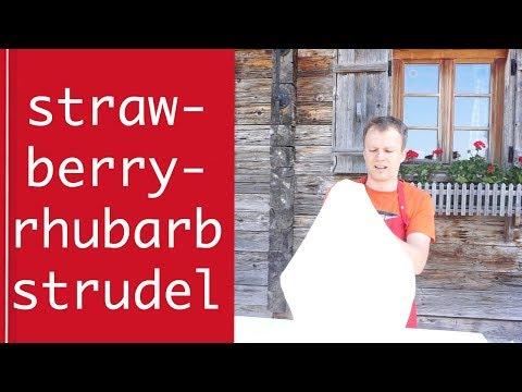 Strawberry Rhubarb Strudel