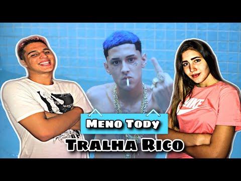 """REACT - Meno Tody """"Tralha Rico"""" (Official Vídeo)"""