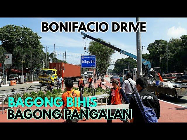 BONIFACIO DRIVE BAGONG PANGALAN AT BAGONG BIHIS | MANILA UPDATE JULY 13, 2019