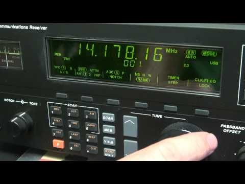 Drake r8a Vintage Ham Radio Shortwave Receiver Demo The best N6tlu