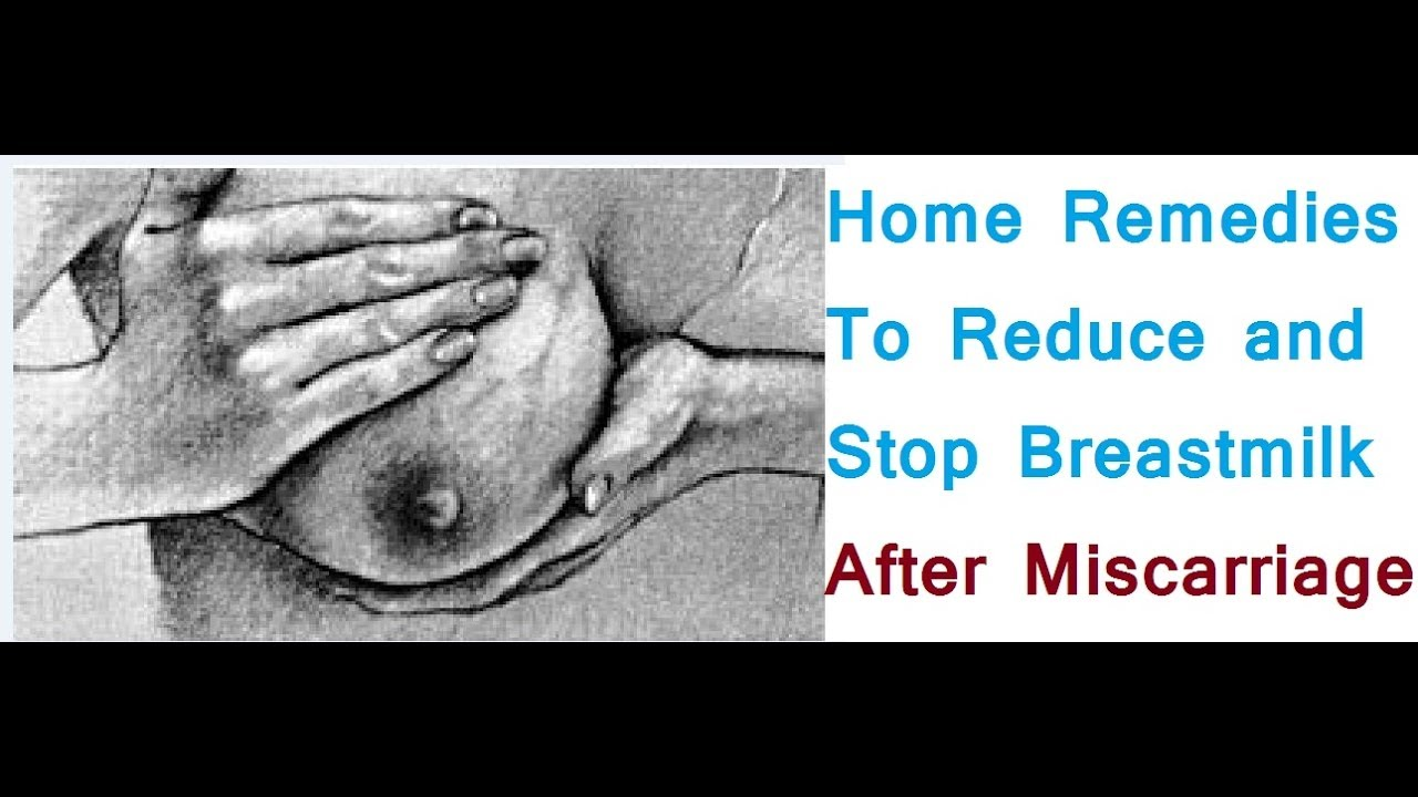 Home Remedies To Reduce And Stop Your Breast Milk Supply -4083