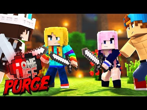 WE CAN KILL EACH OTHER!?   One Life Purge...