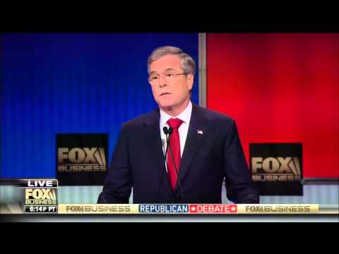 Jeb: Hillary would spend her first 100 days going from the White House to the courthouse