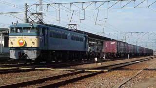 JR貨物 EF65 116 出雲ふうカン付 多度津出発