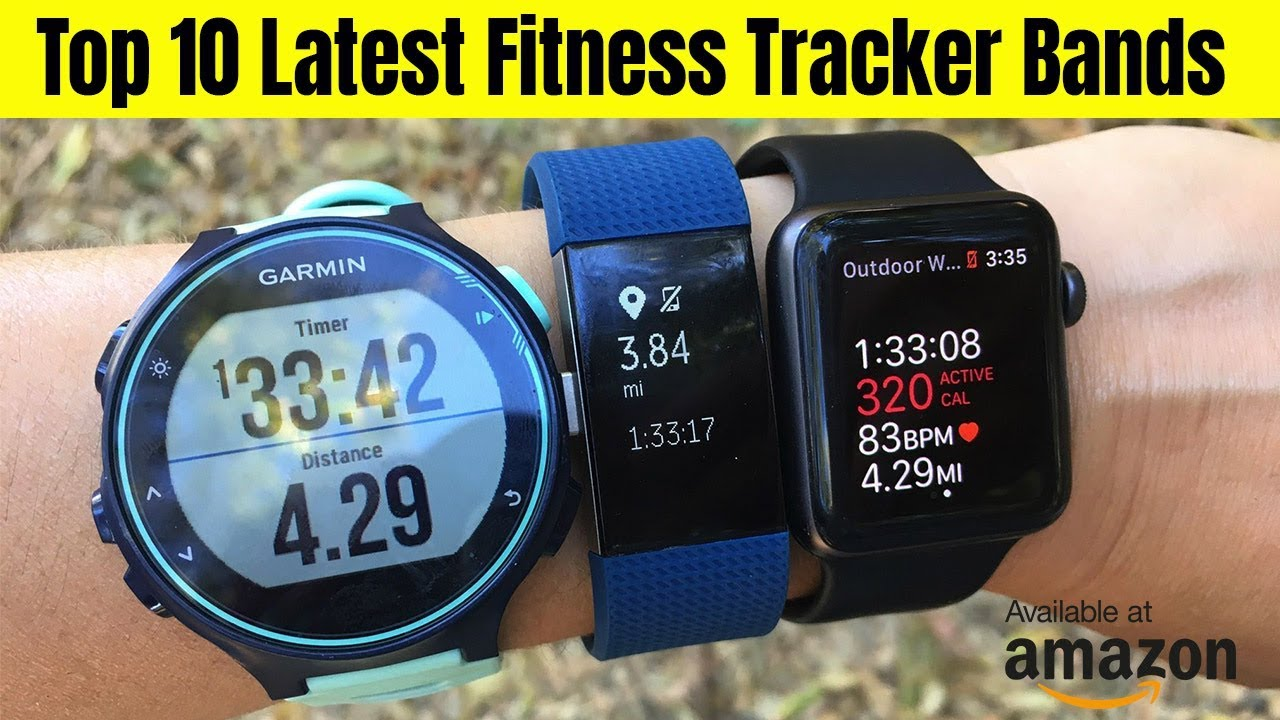 e8a927518504 Top 10 Best Fitness Trackers in 2019 || the top 10 activity bands on the  planet