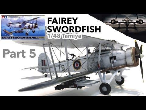 Fairey Swordfish 1/48 Tamiya - Part 5 - Final Assemble - Full Scale Model Kit Build