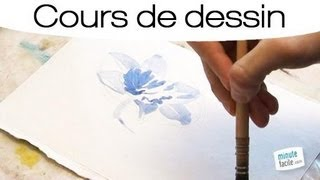 comment dessiner à l'aquarelle