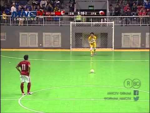 All Goall & Full Highlight Futsal Indonesia Vs Jepang [7-3] 11 April 2015