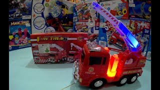 FIRE TRUCKS Unboxing toys for kids