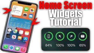 How To Use Home Screen Widgets On iPhone or iPad with iOS 14 screenshot 2