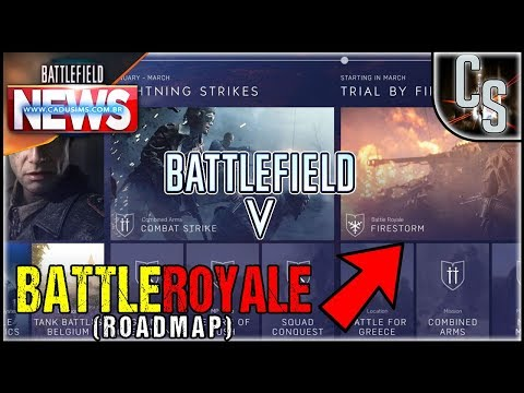 Revelado ROADMAP do Battlefield V! {Notícias Battlefield} thumbnail