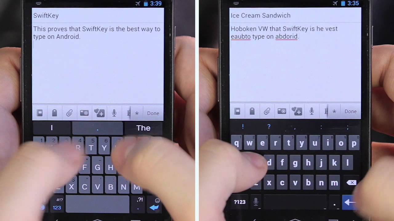 SwiftKey 3 for Android out of beta: smarter auto spacing