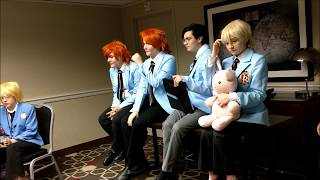 Hosting 101 and Q&A with the Ouran Host Club